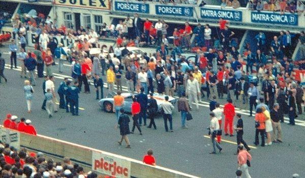 Ford vs. Ferrari en Le Mans '66