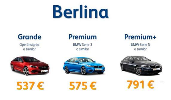 Renting flexible berlina